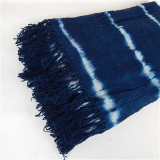 Bondi Tiedye Throw Blue 220cm x 130cm