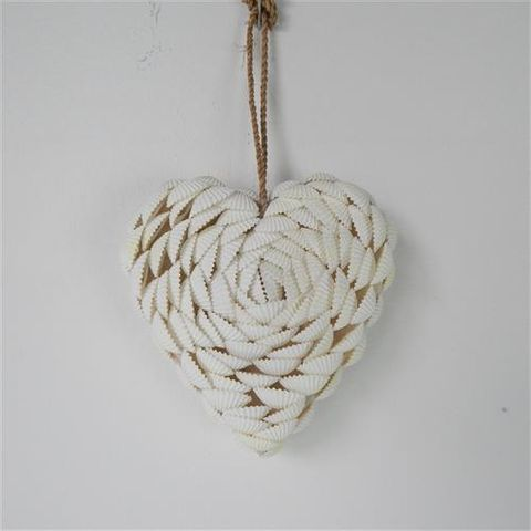 Shelly Heart Solid 12cm x 12cm