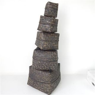 Lira Boxes s/5 Blackwash 30 / 25 / 20 / 17 / 11cm2
