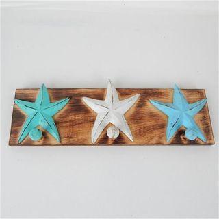 Starfish Hanger Blues 40cm x 12cm high