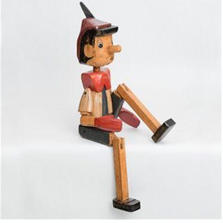 Vintage Pinocchio Large 100cm