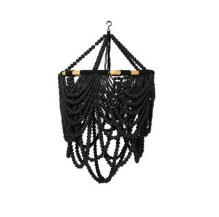 Beaded Labella Chandalier Black 50cm x 80cm