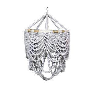 Beaded Labella Chandalier White 50cm x 80cm