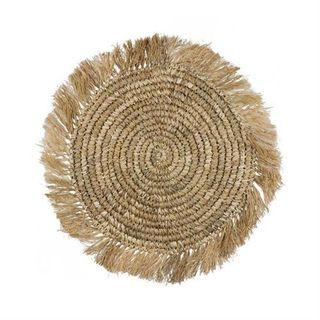 Palm Placemat Natural 40cm dia