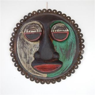 Kalaman Mask w Pennies 36cm dia