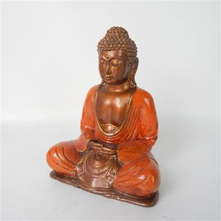 Rina Buddha Burnt Orange 20cm high