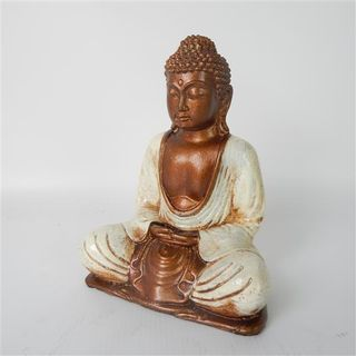 Rina Buddha Cream 20cm high