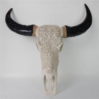 Buffalo Skull Resin 70cm x 70cm high