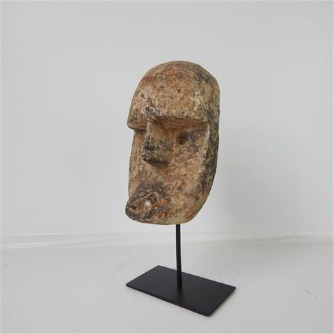 Papua Mask Small on Stand 12cm x 28cm high