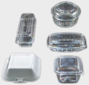 CONTAINERS - HINGED LID