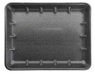 *TRAY IKON CLOSED 14X11 BLACK 180
