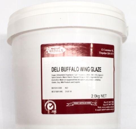 DELI BUFFALO WINGS GLAZE  2kg BUCKET