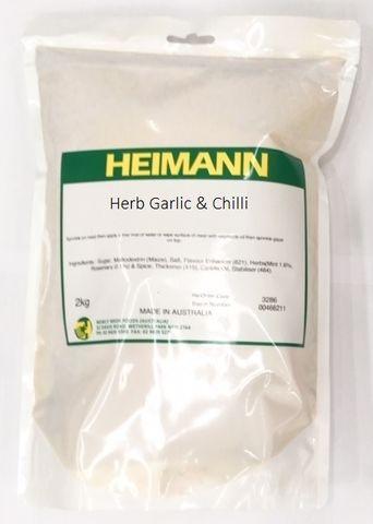 GLAZE - HERB/GARLIC & CHILLI HEIMANN 2KG