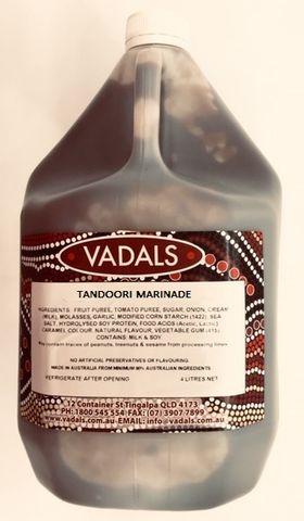 MARINADE TANDOORI VADALS 4L