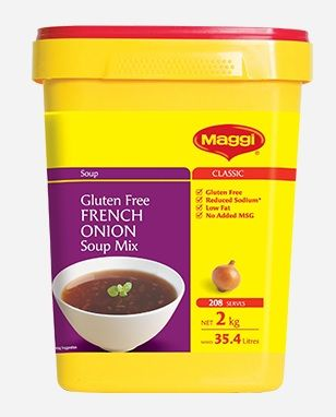 BOOSTER - FRENCH ONION SOUP MAGGI 2KG