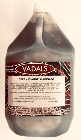 MARINADE STEAK DIANNE VADALS 4L