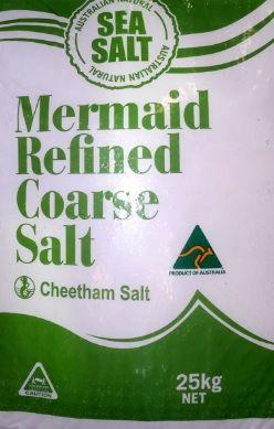 SALT COARSE REFINED CHEETHAM 25KG