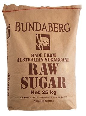 SUGAR BROWN BUNDABERG 25KG