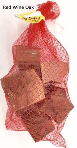 CHUNKS RED WINE OAK 2KG BAG