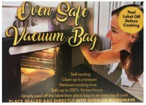 BAG - OVEN/VAC 250 X 450 50pk