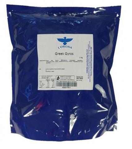 GLAZE - GREEK GYROS CN G/F ALL NAT 2KG