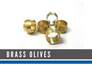 BRASS OLIVES