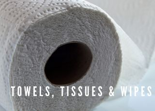 TOWELS, TISSUES & WIPES