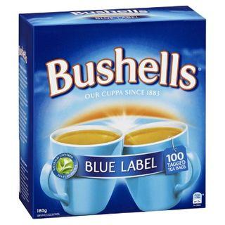 Tea Bags Bushells - Box 100