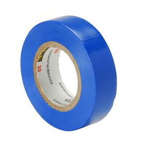 Electrical Tape Blue 18mm x 20m