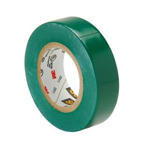Electrical Tape Green 18mm x 20m