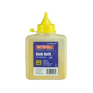 Chalk Powder Yellow 230Gram Bahco