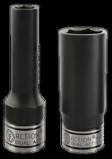 Socket Dual Action 18mm 1/2Dr Deep