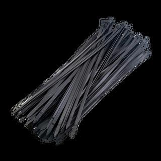 Cable Tie Black 650x9mm  Pk 25