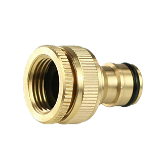 Tap Connector Brass 3/4 & 1 Inch