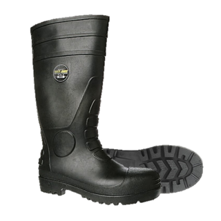 Rubber Boot Steel Cap - Size 9