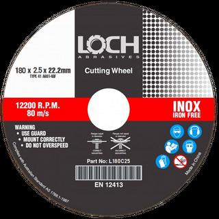 Cut-Off Wheel LOCH 180x2.5x22mm