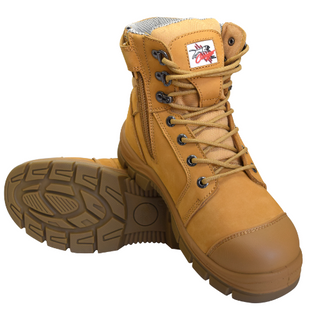 Safety Boot Z/Side W/Bump Cap Size 4