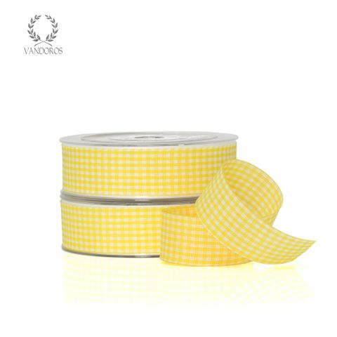 ZH011-C001 YELLOW GINGHAM