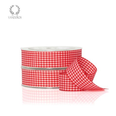 ZH011-C003 RED GINGHAM