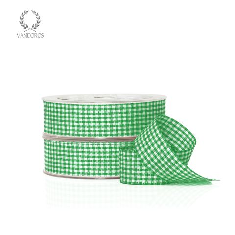 ZH011-C004 GREEN GINGHAM
