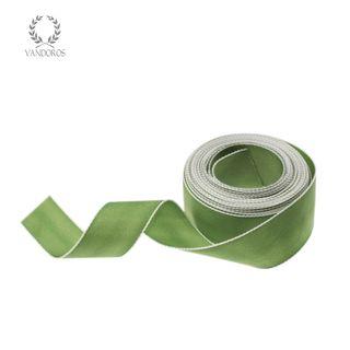 CORFU OLIVE/WHITE EDGE 25mmX25M