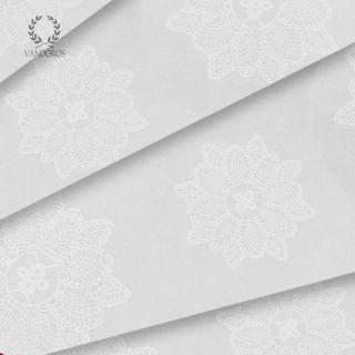 TRANSLUCENT LACE SATIN WRAP PRINT TISSUE PAPER 200 SHEETS