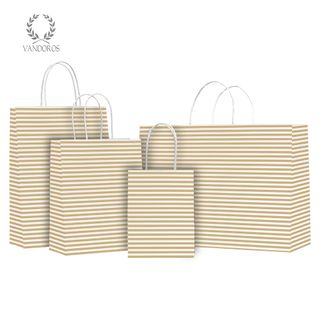 TWISTED HANDLE BAG CANDY GOLD 160X200X80mm