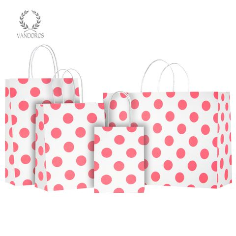 TWISTED HANDLE BAG PEARLS WHITE/NEON PINK