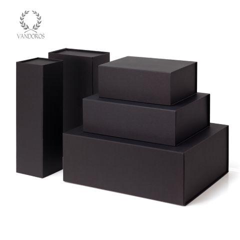 FOLDABLE GIFT BOX BLACK