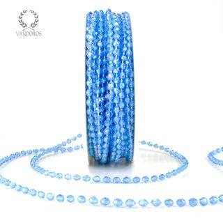 BK-Y07-024 BLUE BEADS ON STRING