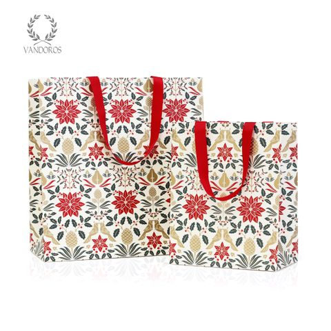 POINSETTIA RED GIFT BAG