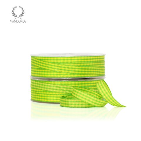 CH-001-16/20 LIME/YELLOW GINGHAM