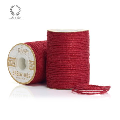 JUTE STRING SPICE RED