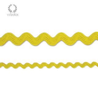 RIC-RAC YELLOW 2mmX50M